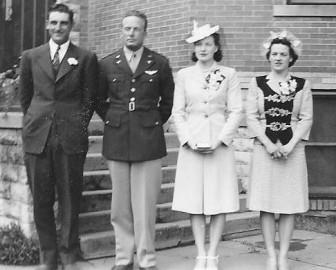 Mervin Wells, Warren Neal, Doris (Wilson) Neal, Darlene (Wilson) Scar